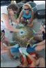 PHOTO: Virginia Aquarium Staff Tagging a Wild-Caught Loggerhead http://myd.as/p7393