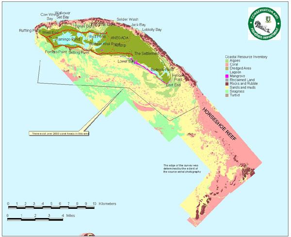 MTRG Anegada Marine Resource Map